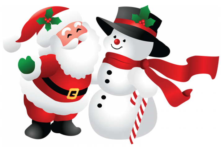 Larger clipart santa Download PNGMart Free Snowman com