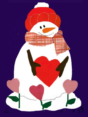 Snowman clipart valentine Of MA 509 House House