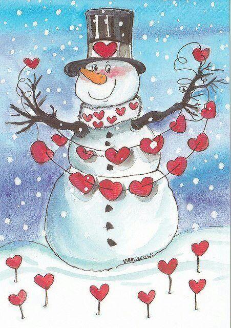 Snowman clipart valentine Valentine images 77 on snowman