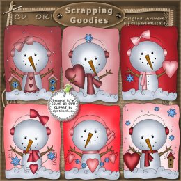 Snowman clipart valentine Clip Collection Be CU