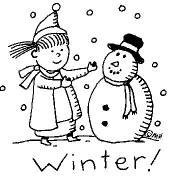 Winter clipart cold child About Winter Winter Coming images