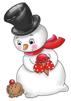 Snowman clipart xmas About best ClipartWinter 1235 images