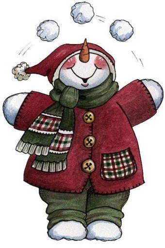Snowman clipart xmas Art Art about on Pin