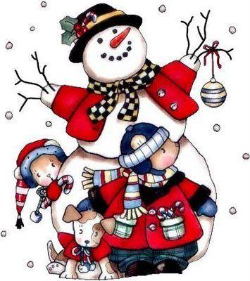 Snowman clipart xmas On RED ideas DE hombres