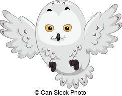 Snowy Owl clipart Stock Snowy in Snowy 000