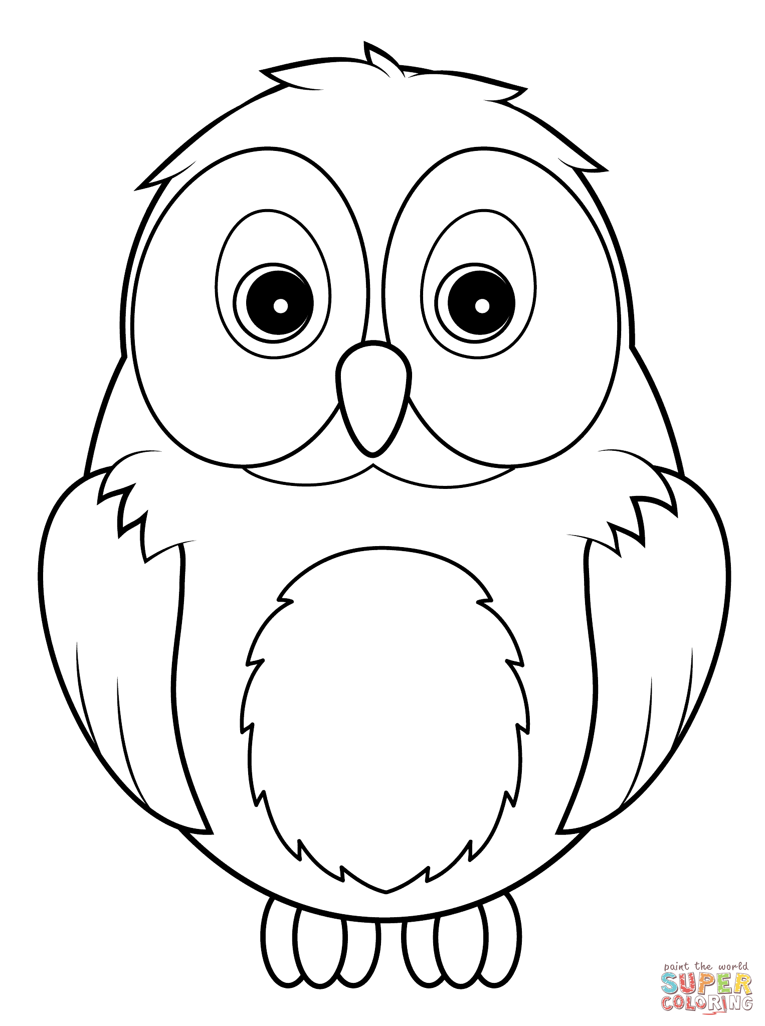 Color clipart owl  how 60 Online Pages