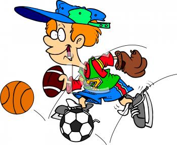 Soccer clipart athletic boy Boy clipart boy clipart Athletic