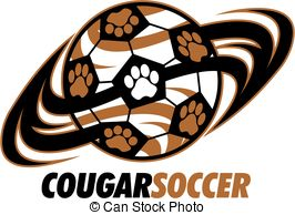 Soccer clipart cougar Mascot of with Cougar EPS