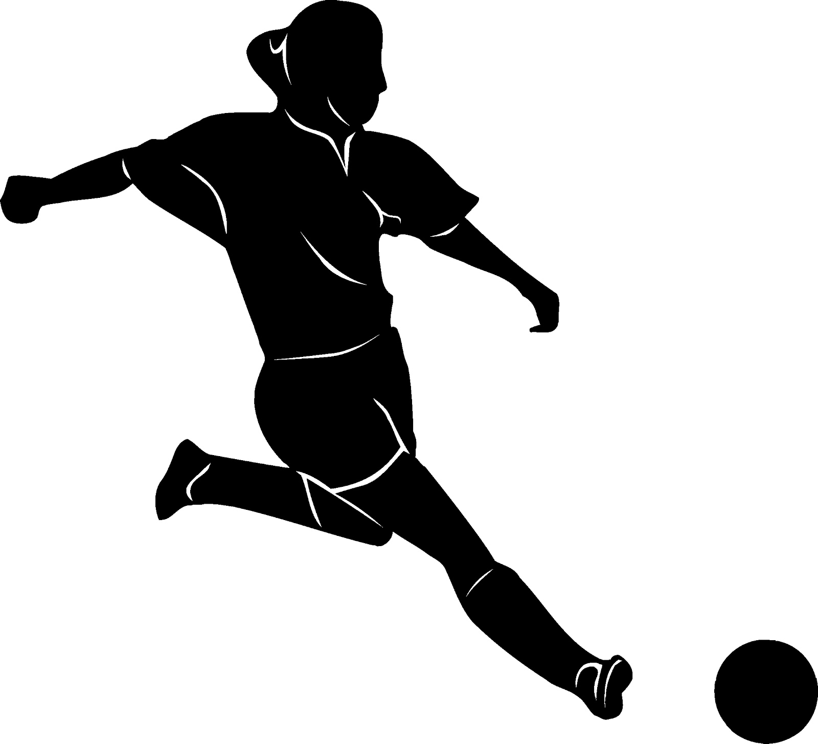 Soccer clipart kicker Football Clipart Clipart Kicker Soccer