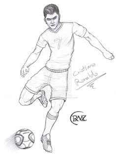 Soccer clipart ronaldo Christiano ronaldo pages pages ronaldo