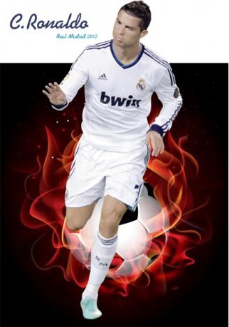 Soccer clipart ronaldo Cristiano Ronaldo Art – Player