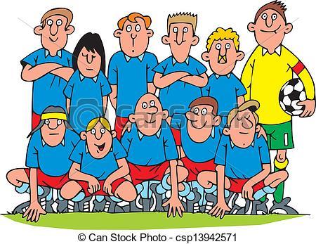 Soccer clipart soccer team Clip team art Team Clip