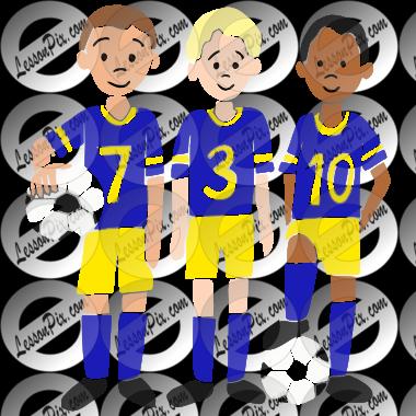 Soccer clipart soccer team Stencil Classroom for Team