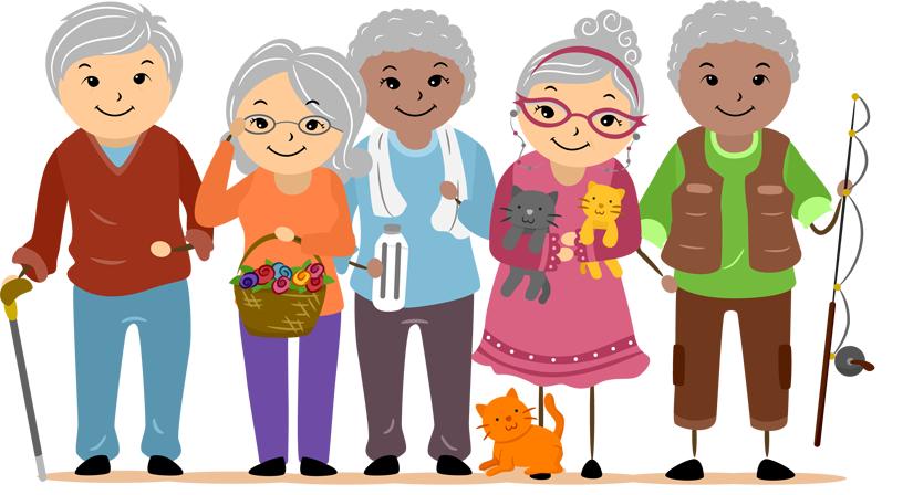 Phillipines clipart senior citizen #2