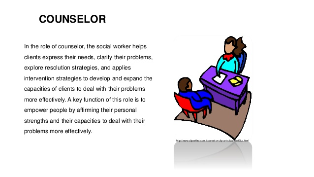 Society clipart social worker Roles  of workers social