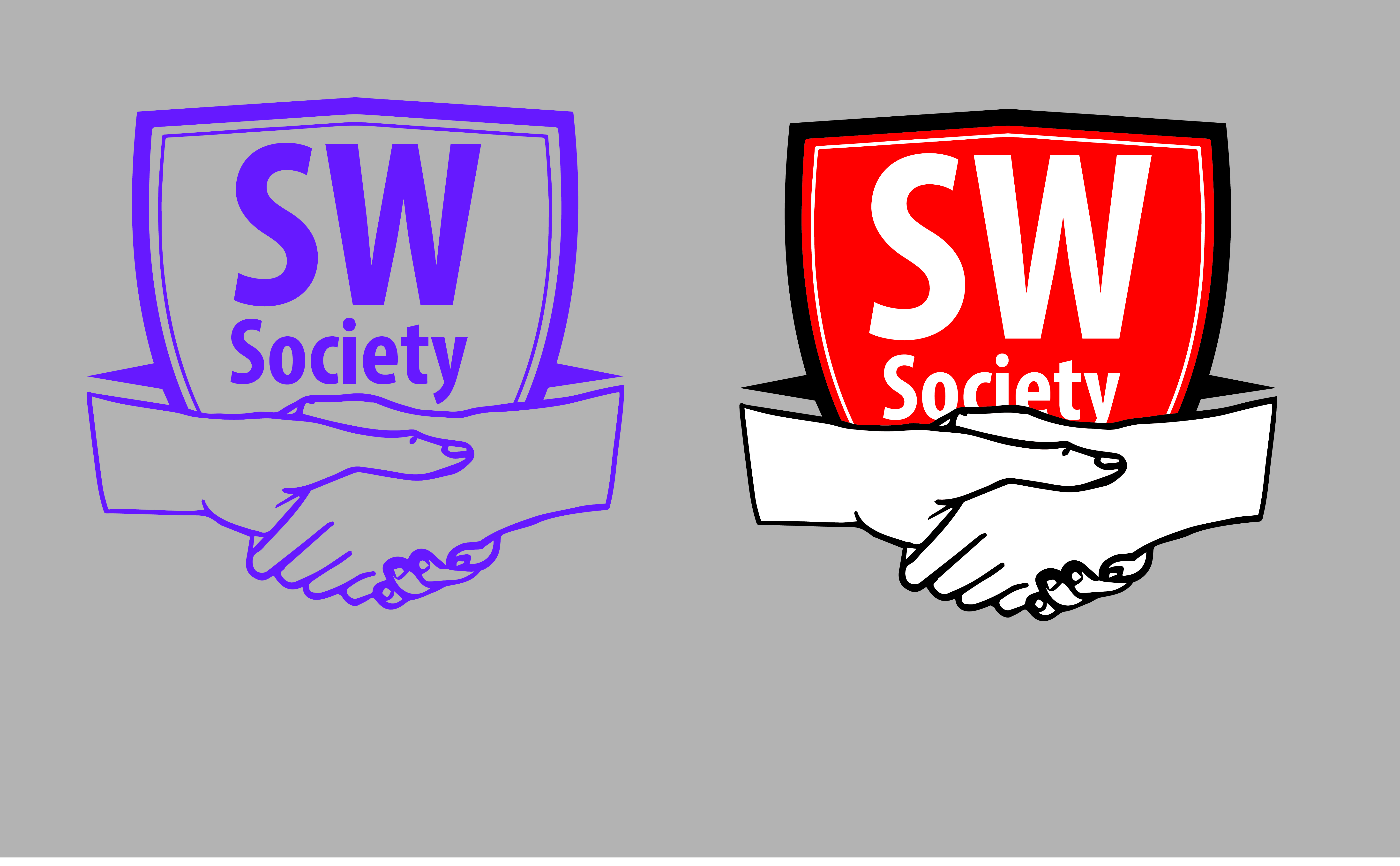 Society clipart social worker Work first portfolio Logo draft