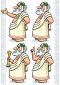 Socrates clipart Philosopher Clipart Royalty Set GoGraph Free of