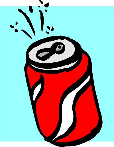 Beverage clipart cold drink Clipart Can Free Images Soda