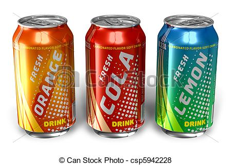 Soda clipart metal can  metal Refreshing cans Refreshing