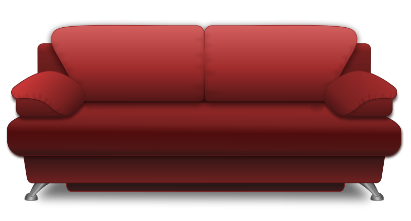 Sofa clipart Use Public to Clip Couch