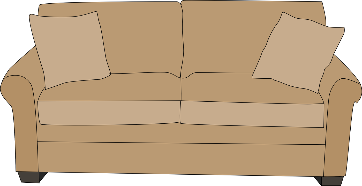 Sofa clipart Couch commercial home design personal