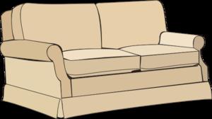 Sofa clipart Vector art com Sofa royalty