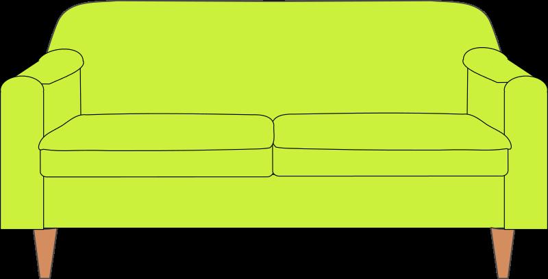 Sofa clipart Public Couch & Clip Art