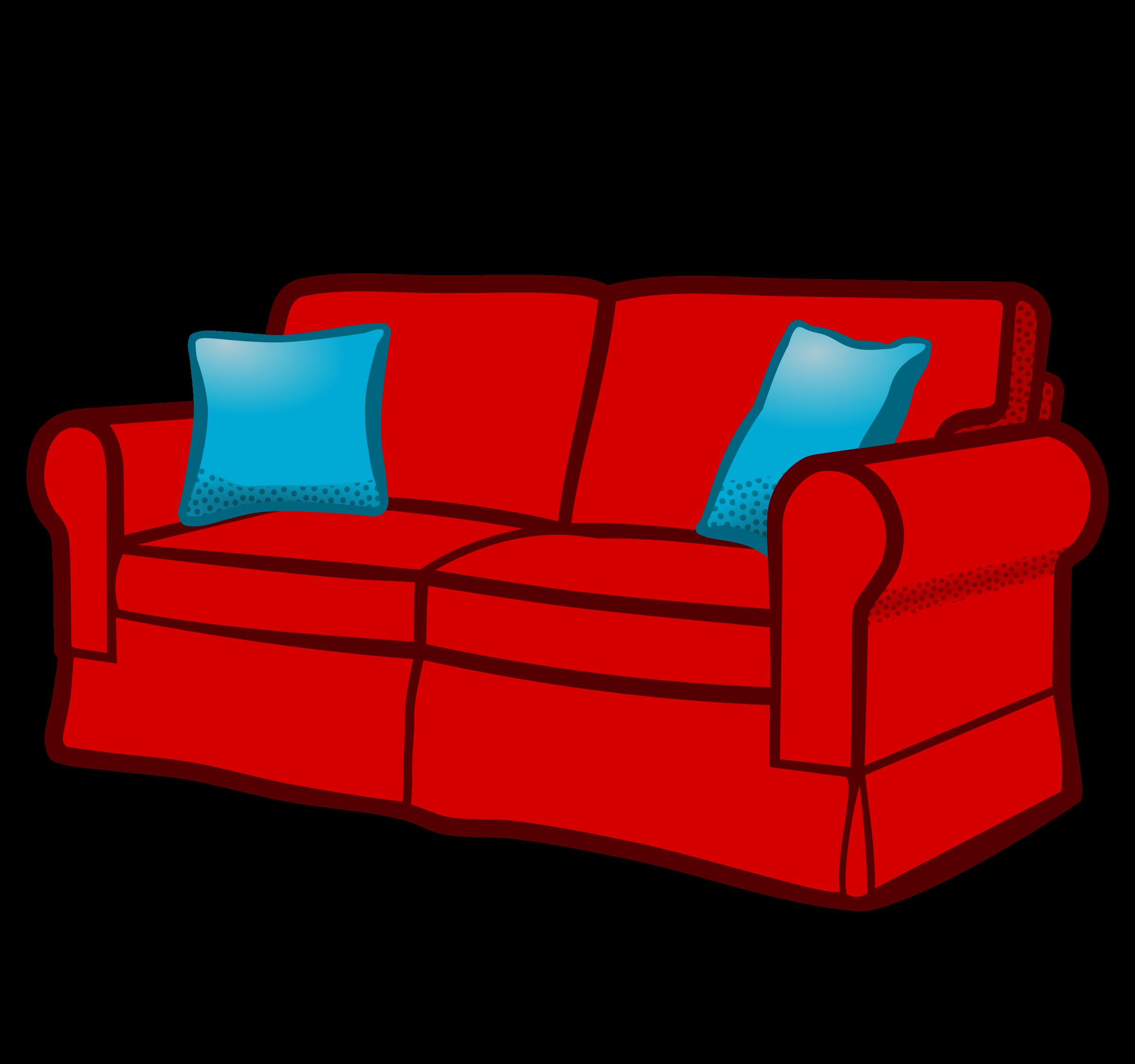 Sofa clipart Sofa sofa coloured coloured Clipart