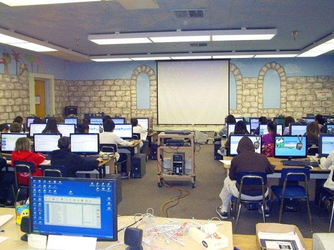 Software clipart computer lab Lab K Layout Computer Lab