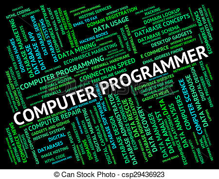 Software clipart computer programming Csp29436923 And Programmer Software Software