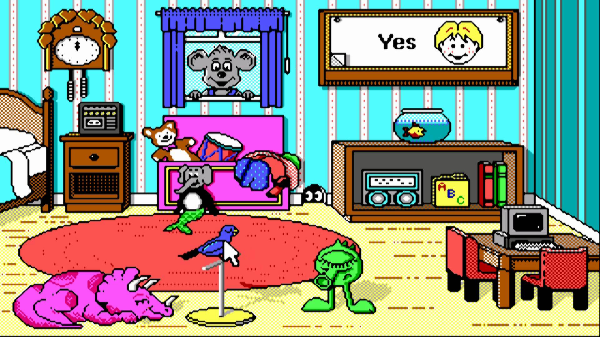 Software clipart computer room Playroom SKR](Disk OCS Software)[cr The