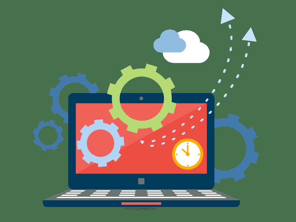 Software clipart focused York Database Development System Software