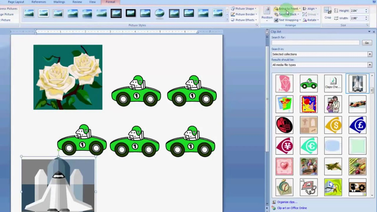 Software clipart microsoft 2007 clip to clip use