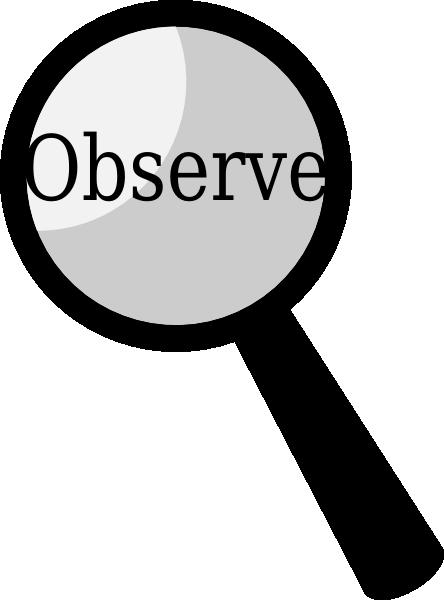 Reflection clipart teacher observation #1