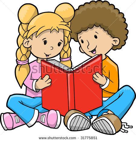 Worm clipart kid book #12