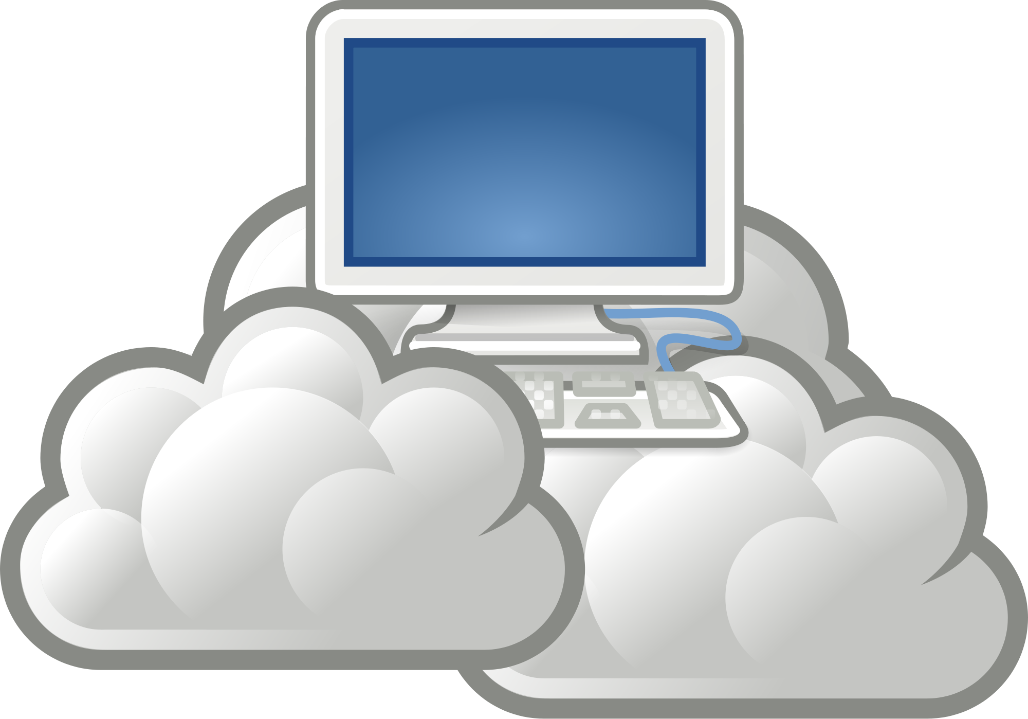 Clouds clipart cloud computing UK Cloud Requirements The Refinery