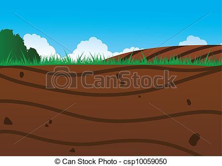 Mountain clipart ground Ground Under of Ground