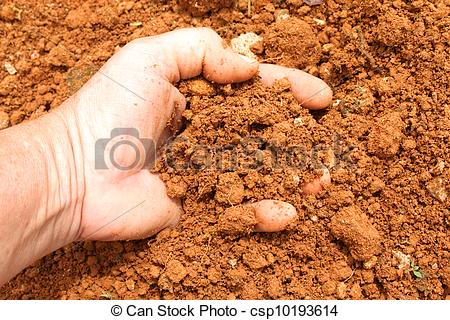 Soil clipart clay soil Soil clay red clay soil