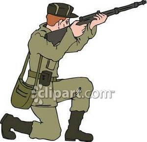 Military clipart army guy Clipart Clip Clipart Soldier Art