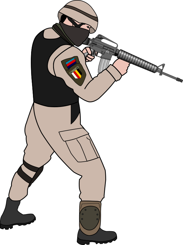 Weapon clipart military soldier Cliparting to Clipart use Soldier