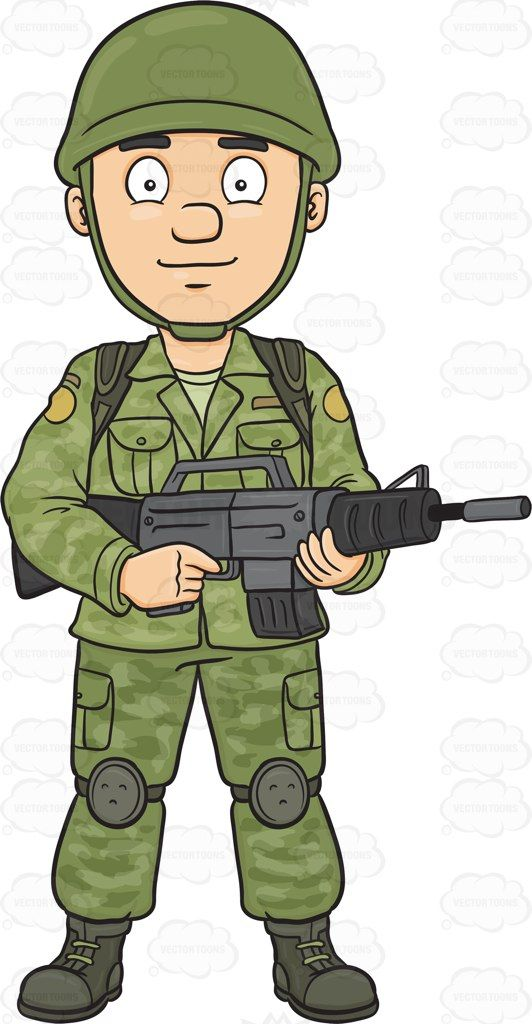 Soldier clipart shooting gun Images Cliparting about images free