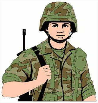 Soldier clipart comic person Images Panda Soldier Clipart clipart