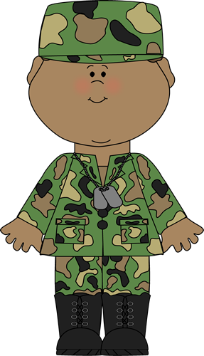 Soldier clipart comic person Image Clip Soldier Art Soldier