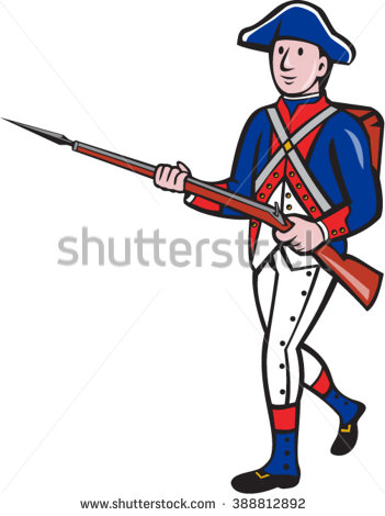 Soldier clipart american colonial Blog page War The Ramie's