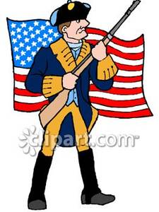 Soldier clipart american colonial Clipart Panda Free Clipart Images