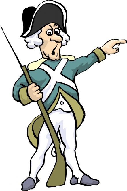Soldier clipart american colonial Collection revolutionary war War Revolutionary