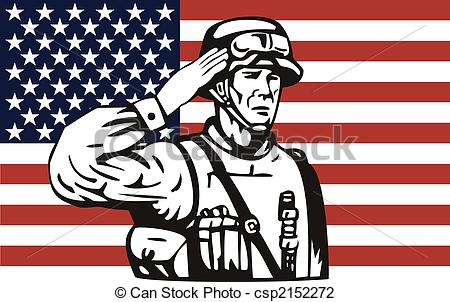 Soldier clipart american soldier Soldier soldier Illustration csp2152272 an