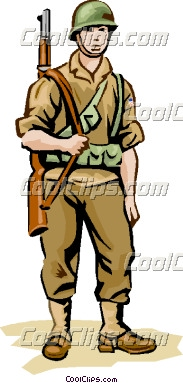 Soldiers clipart ww2 soldier Wwii Clipart American Download Clipart