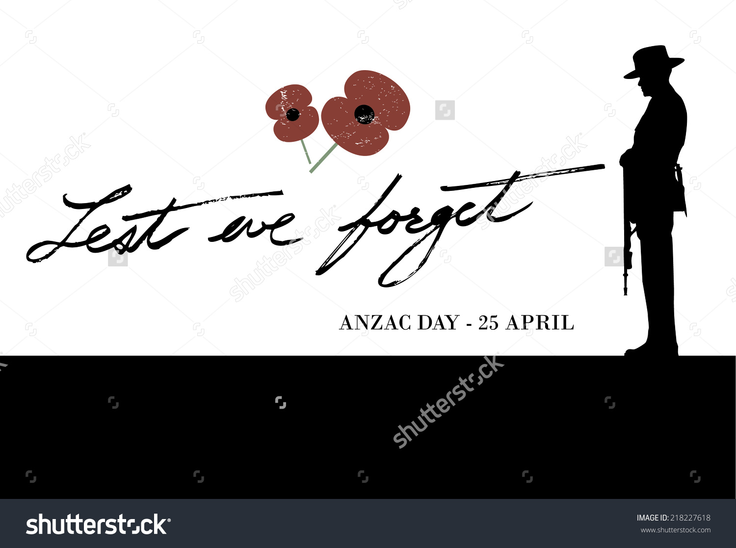 Soldier clipart anzac day Best Anzac Clipart Clipart Day
