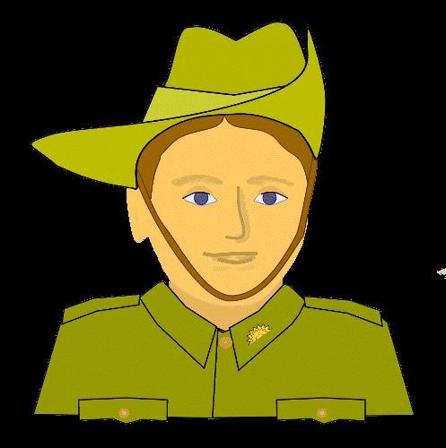Soldier clipart anzac soldier 2017 Day Art Soldier Anzac